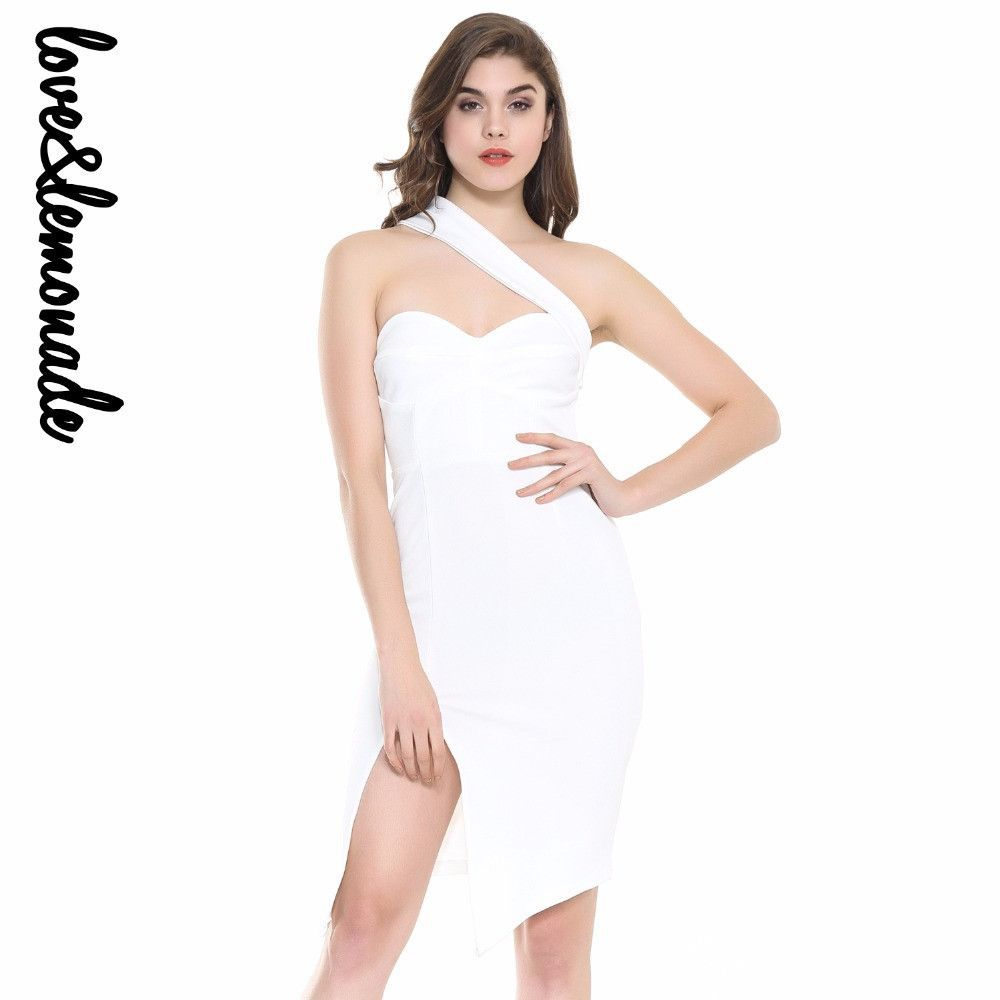 Sexy white wipes slits bodycon pinterest products