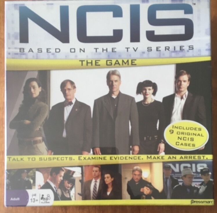 Ncis Board Game By Pressman 2010 New Pressman Collect Board