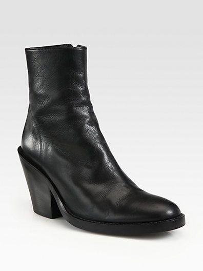 ANN DEMEULEMEESTER Heeled Ankle Boots q2hVoo
