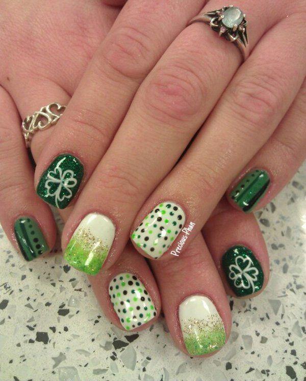 45 Refreshing Green Nail Art Ideas Green Nail Art And Green Nail