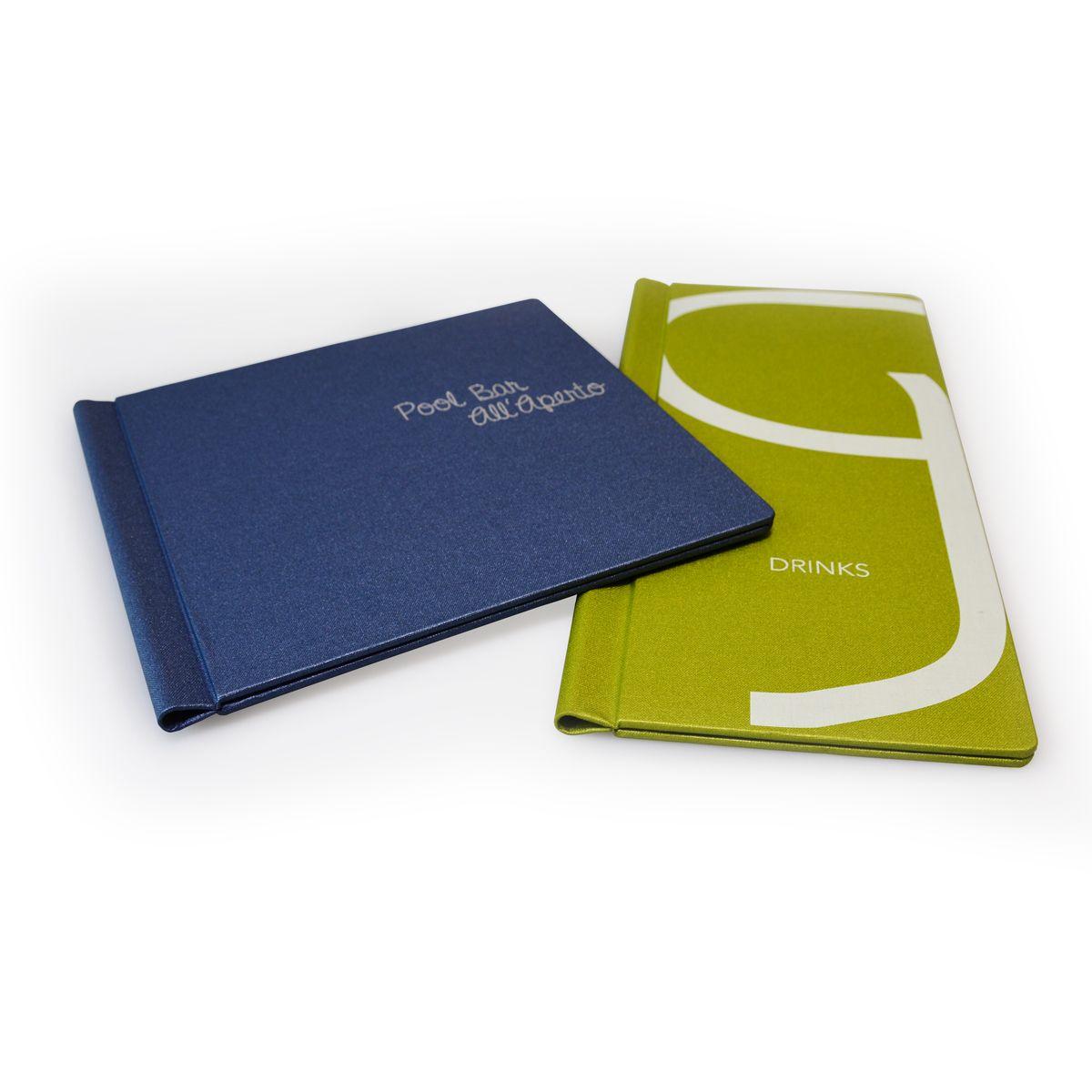 The grip fix menu in the buckram materials. | Grip Fix Menu Covers ...