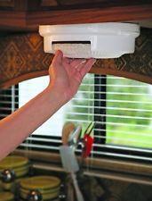 Paper Plate Holder Storage Organizer Rack Dispenser Mount Under Cabinet Shelf RV