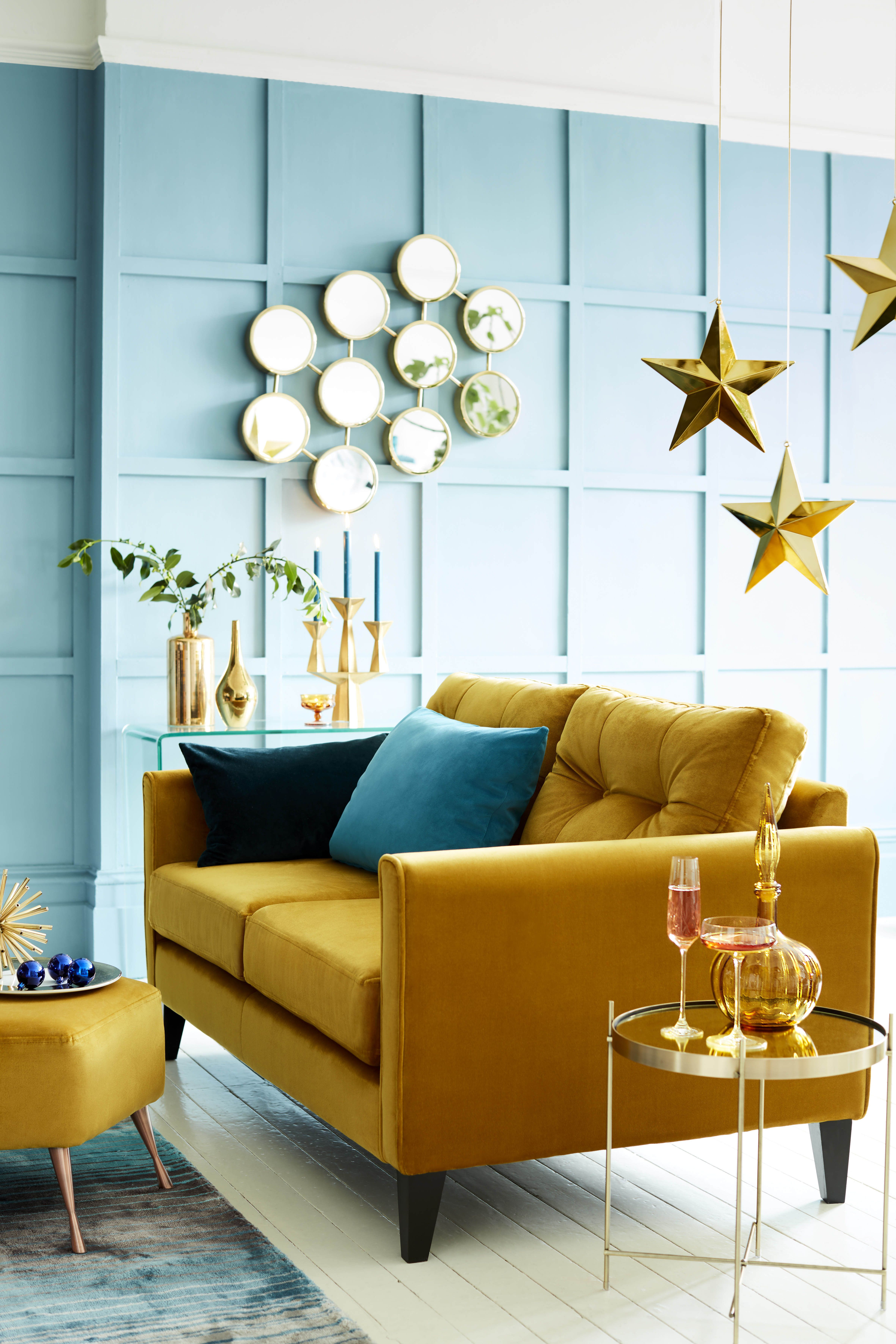 Yellow sofas: 10 of the best | Yellow living room ...