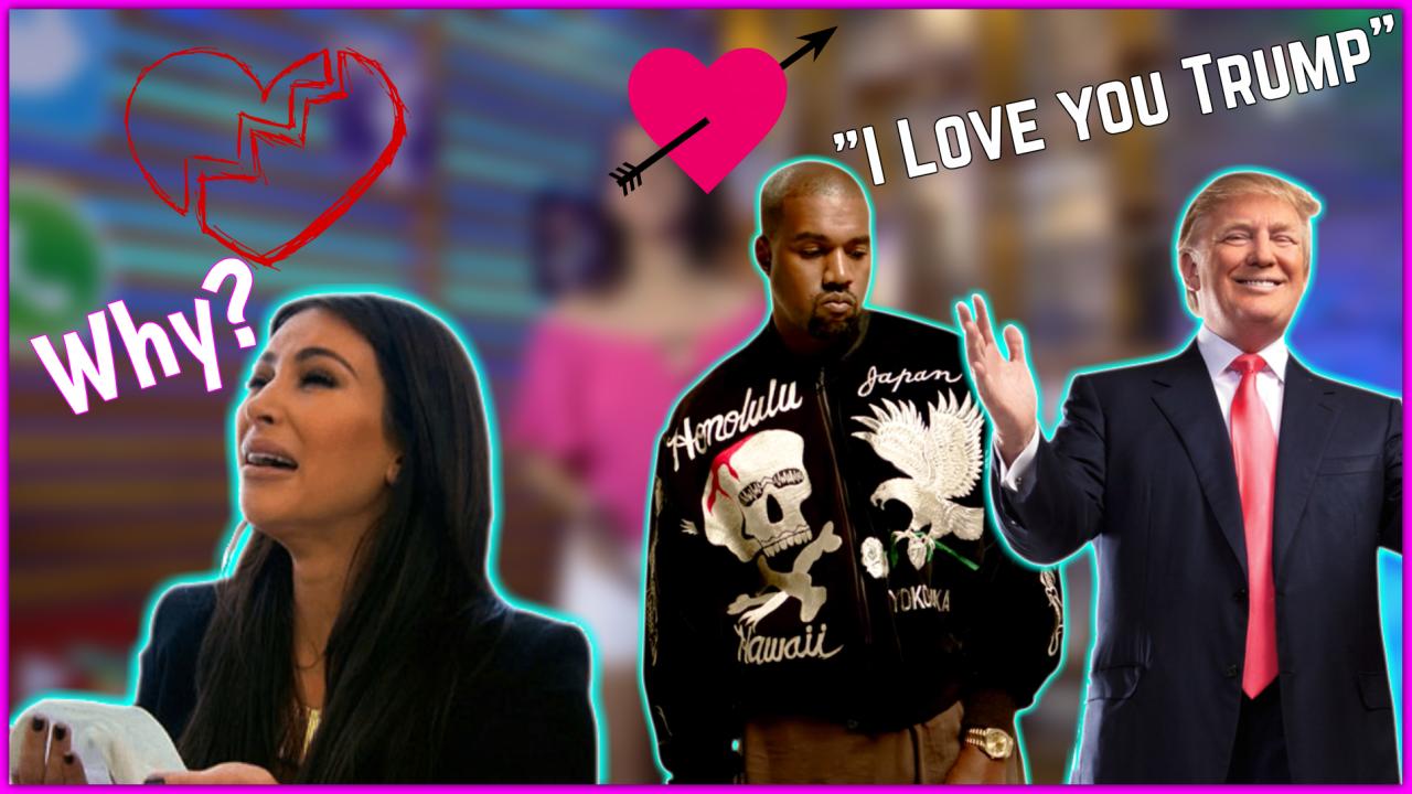 Kanye West Le Declara Su Amor Al Presidente Donald Trump Y Esta Fue La Reacción De Kim Kardashian