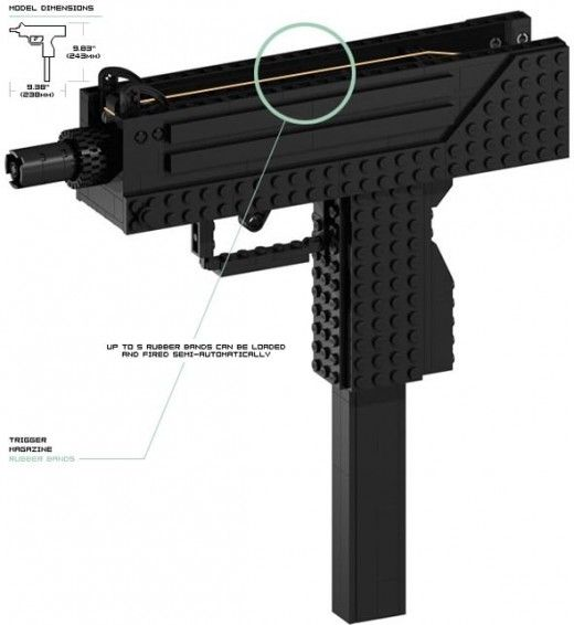 Simple To Build Lego Guns Legos All About Pinterest Lego