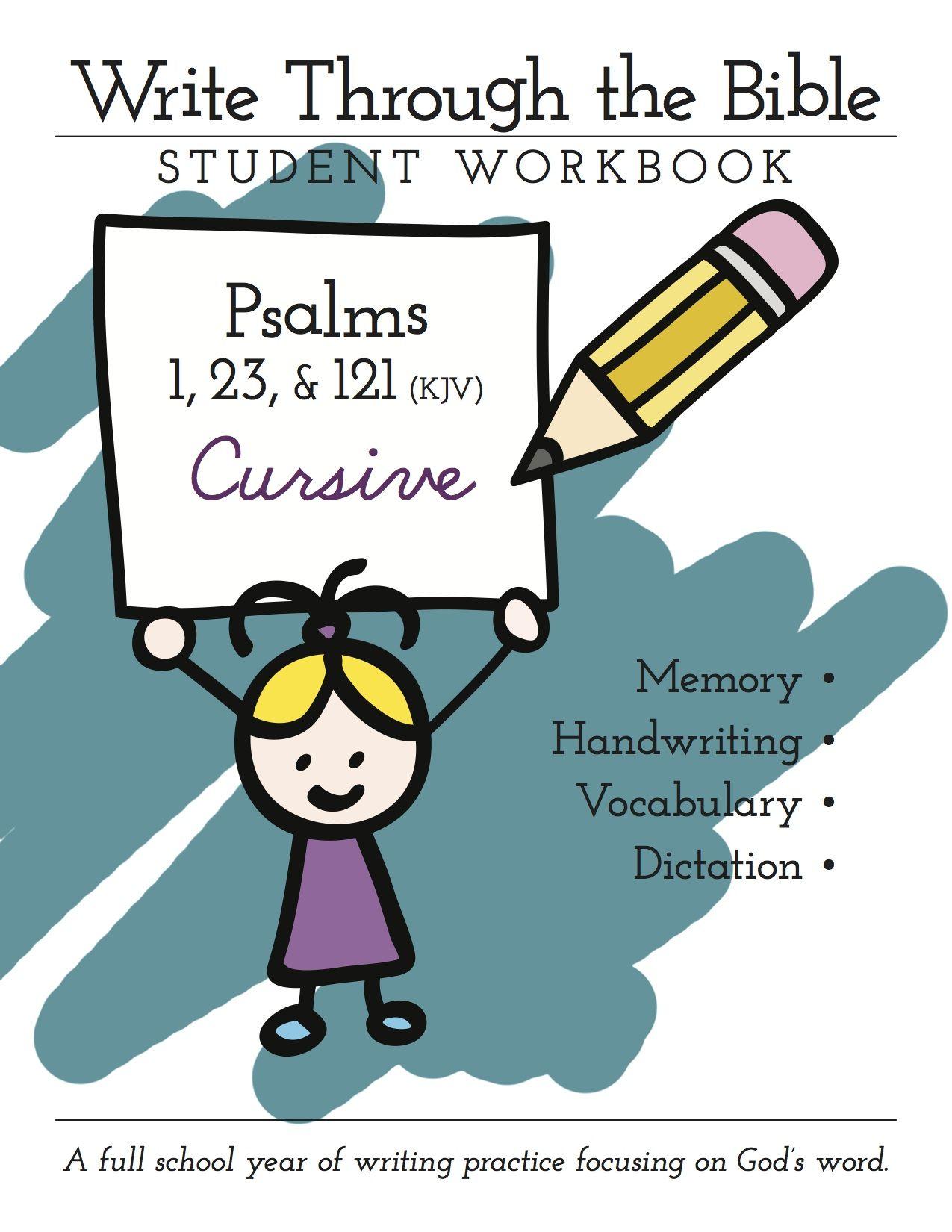Psalms 1 Amp 23 Amp 121 Printable Workbooks
