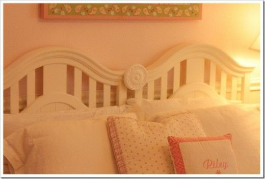 Take Both Ends Of An Old Crib To Make This Headboard Use