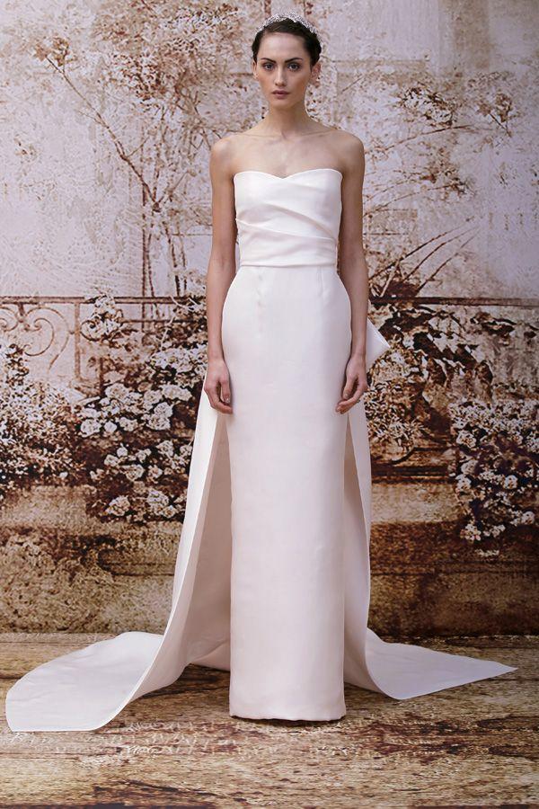 Trend Alert - Blush, Peach and Pink Wedding Dresses   Blush gown ...