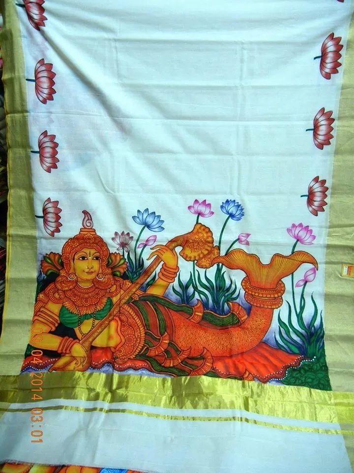 Border design and design on pinterest for Asha mural painting