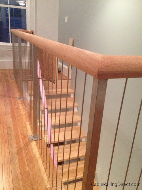 Ordinaire Completely Custom Vertical Cable Railing System. | Interior Design | Home  Decor