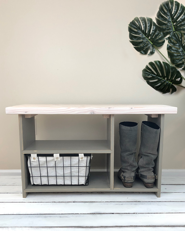 Description Handmade 36 Inch Solid Wood Entryway Bench With Shoe Storage Shelves And Boot Cubb Bench With Shoe Storage Front Door Shoe Storage Entryway Bench