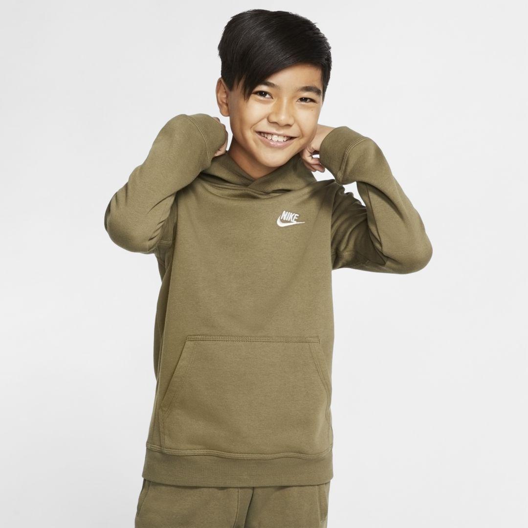 Sportswear Club Big Kids' Pullover Hoodie | Nike sportswear