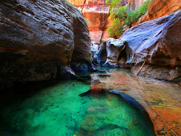 emerald pools zion national park