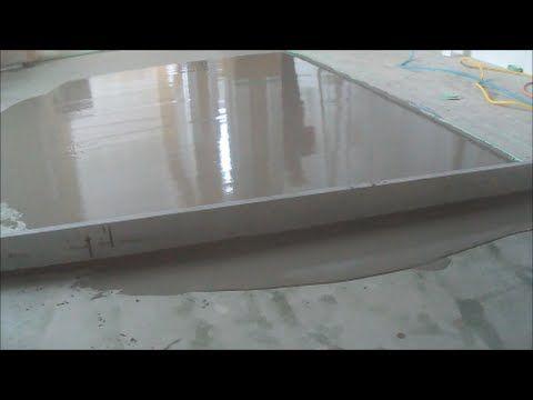Trick For Leveling A Concrete Floor Concrete Floors Concrete