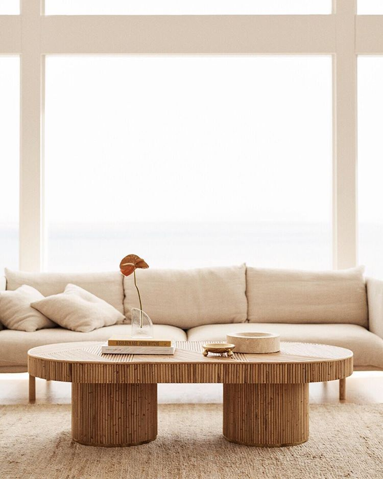 Paloma Coffee Table and Zephyr sofa in Oyster Linen ... on