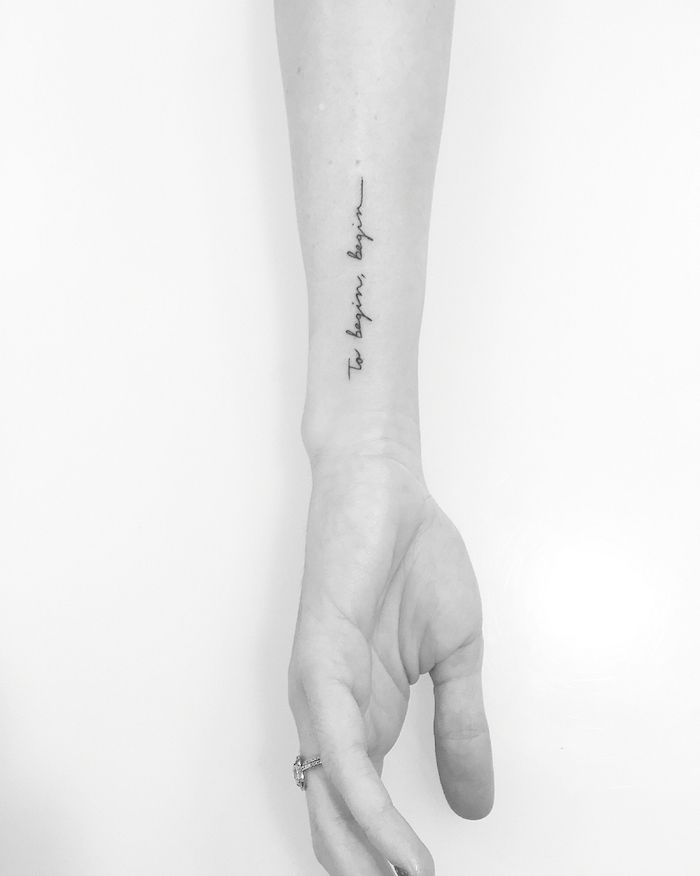 Photo of ▷ 52 + tolle Ideen und Bilder zum Thema Tattoo Schriften Handgelenk