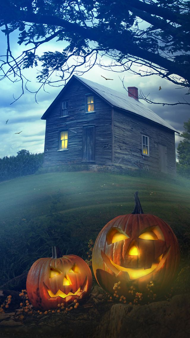 Pin By Ilikewallpaper All Iphone Wa On Iphone Wallpapers Halloween Wallpaper Vintage Halloween Spooky Halloween
