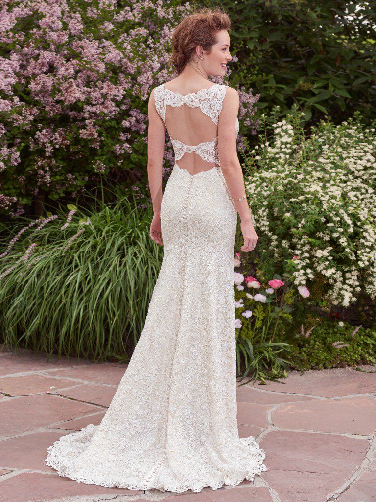 13 Gorgeous Statement-Back Gowns | Maggie sottero, Wedding dress and ...