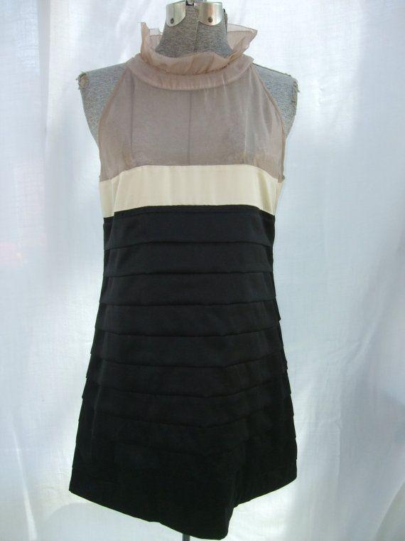 Vintage 1990s Dress Sheer Top Layered by TimelessTreasuresVCB, $28.00
