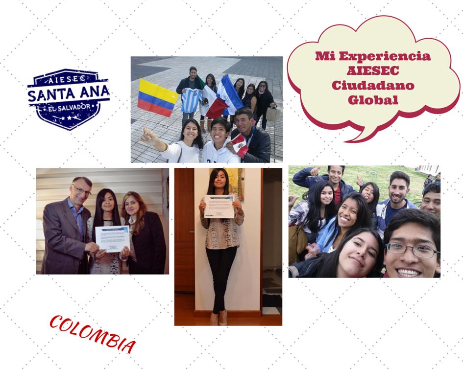 Arely Linares y su experiencia aiesec #globalcitizen en #colombia