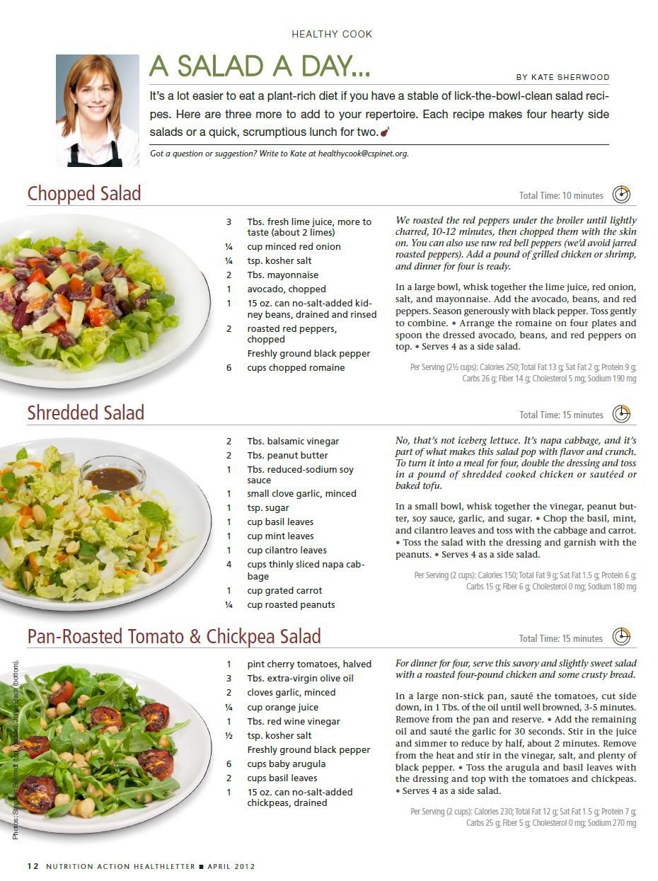 Different types of salad | Cancer Nutrition | Types of salad