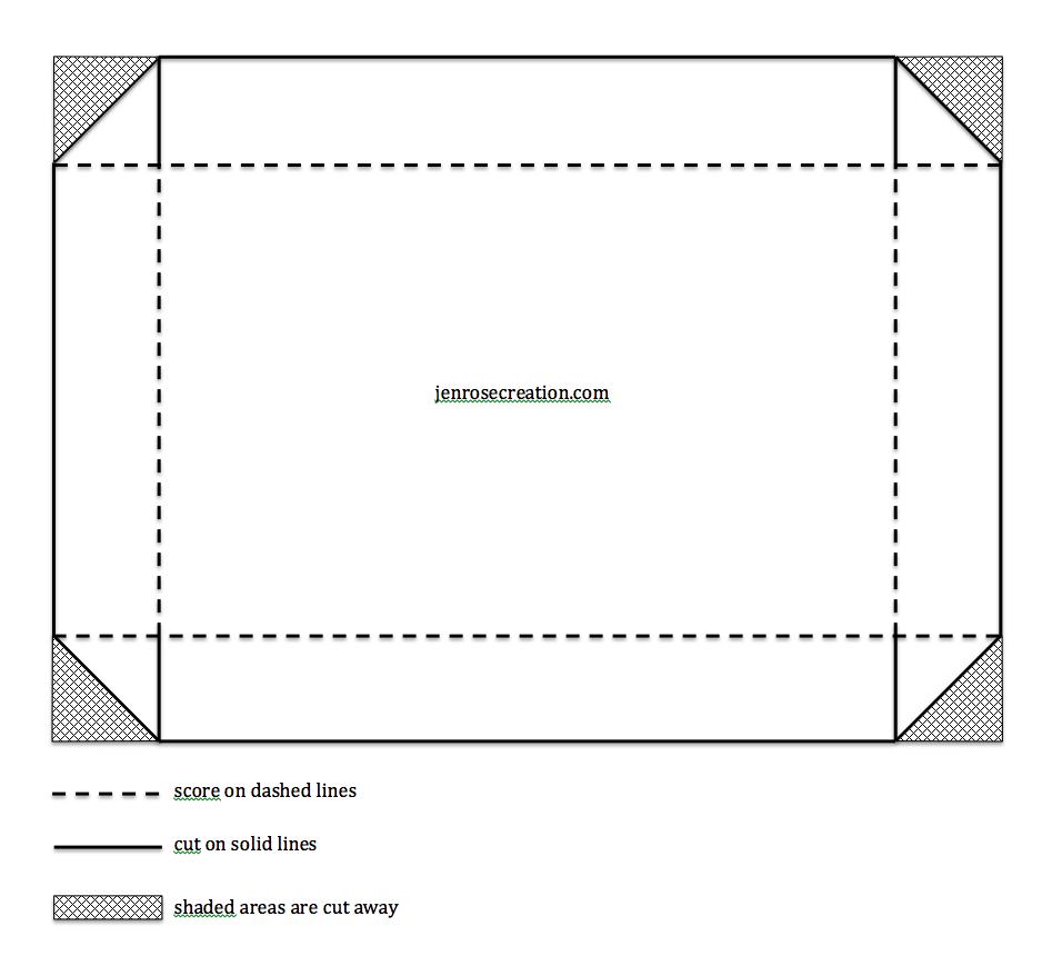 Card Box Template, Jen Rose Creation, Stampin\' Up!, Jennifer ...