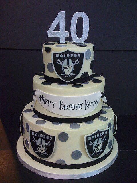 Raiders Cake Ideas Pinterest Raiders Boyfriends And Raiders Cake
