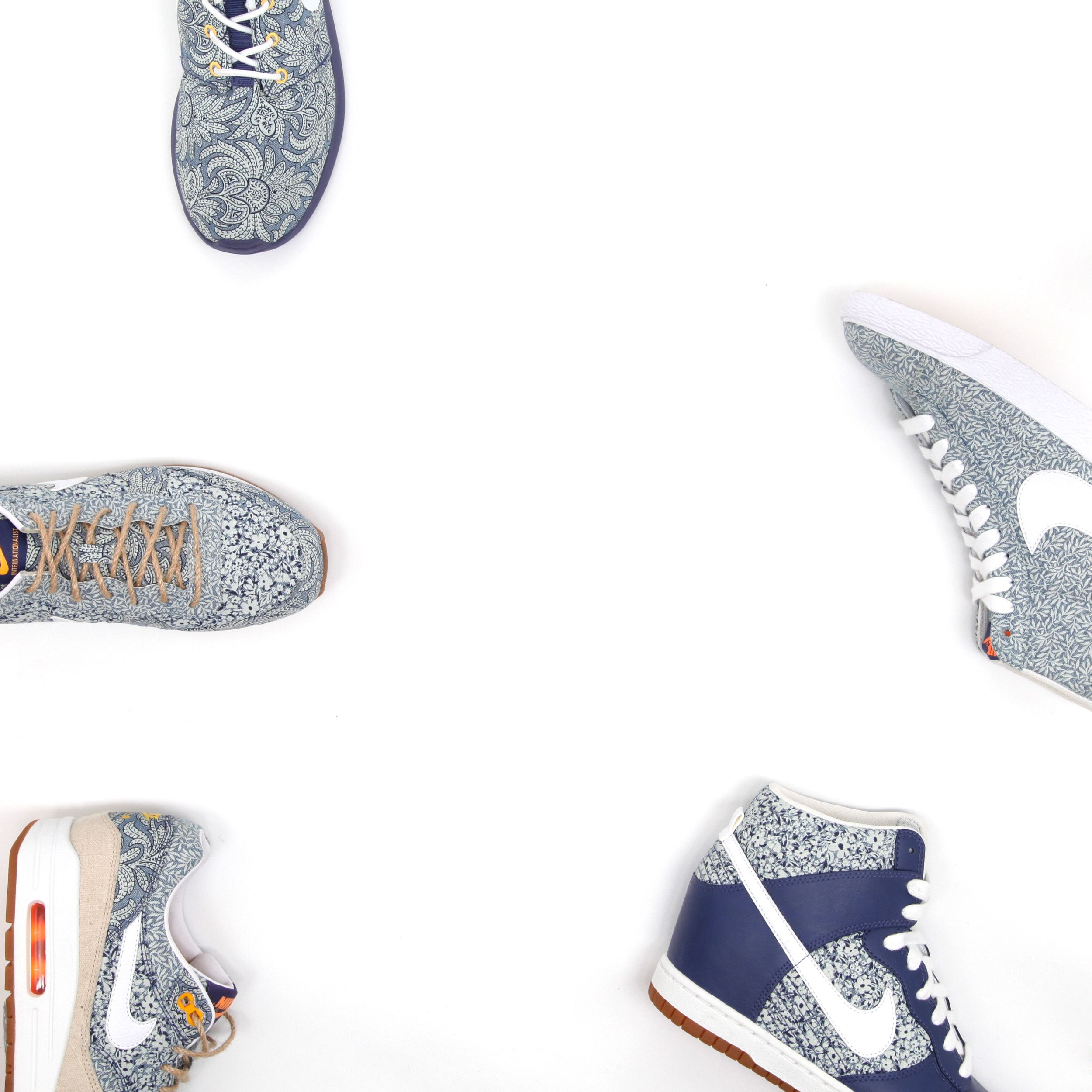 The next Nike X #LibertyPrint collection launches exclusively in-store and online at Liberty.co.uk on Monday 7th April. Do you know which style you like best yet? Find them all here: http://www.liberty.co.uk/fcp/categorylist/designer/nike