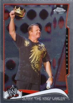 2014 Topps Chrome WWE #24 Jerry Lawler Front