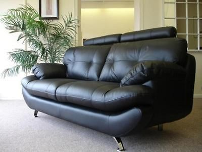 Sandy 3 2 Sofas In Black Brown Or Red Maymun Co Uk