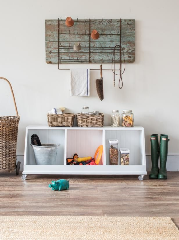 build your own multifunctional storage cubby  diy decor