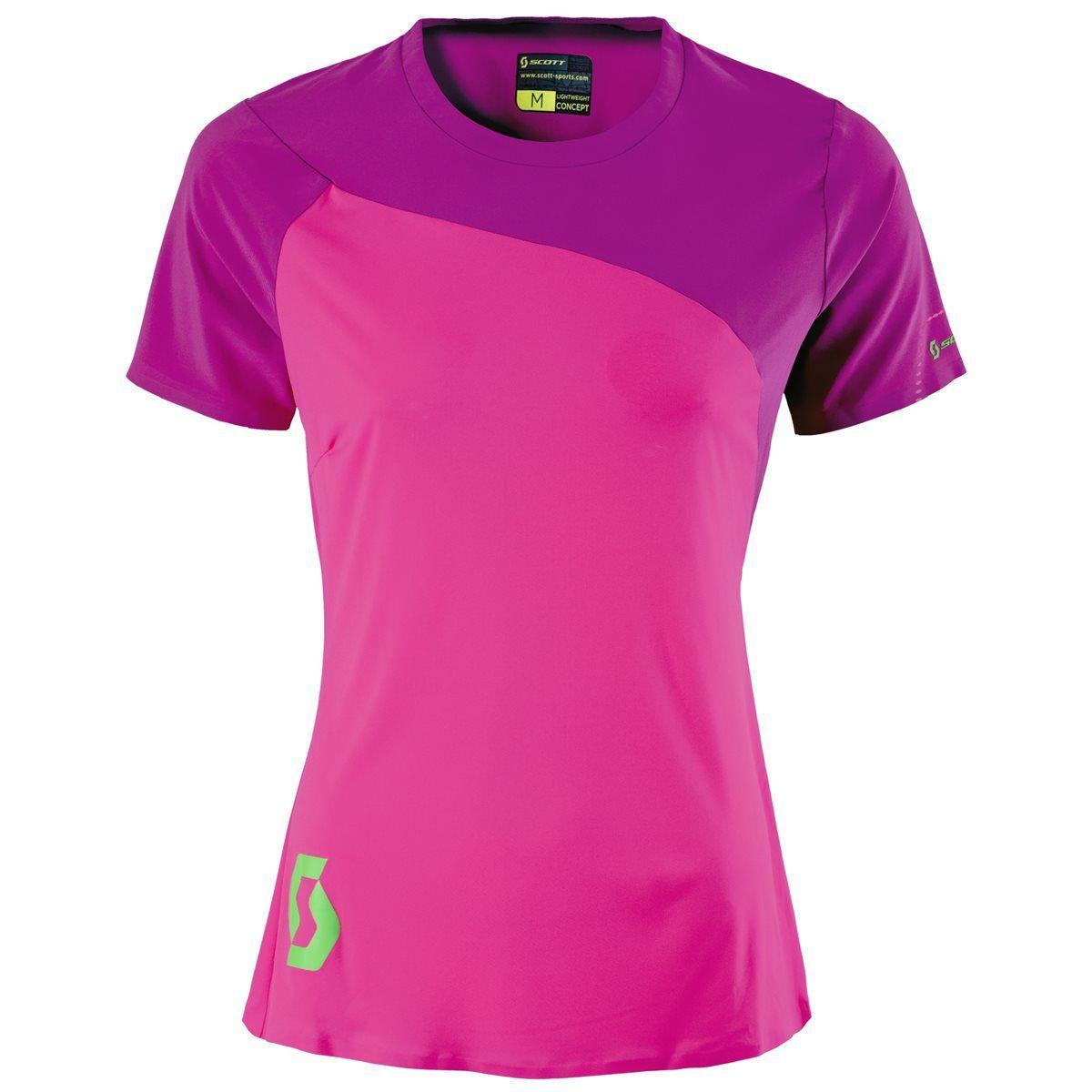 Scott Trail Tech 10 Womens Short Sleeve Cycling Jersey  fd42eef14