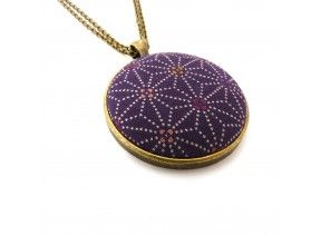 Purple Star Pendant