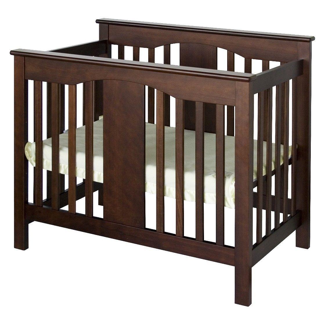 Davinci Annabelle Mini Crib Mini Crib Convertible Crib Espresso Small Baby Cribs