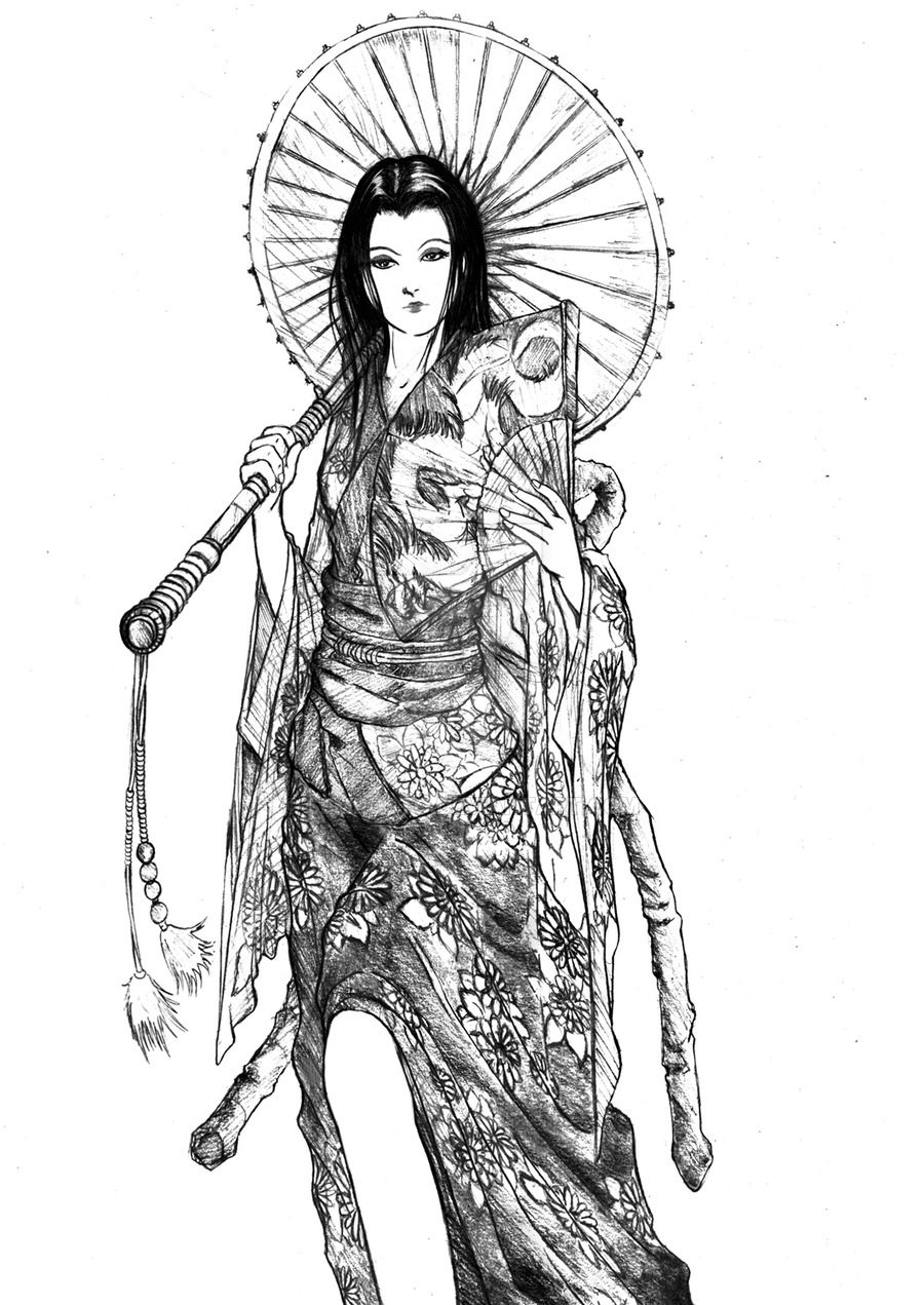 Related image tattoo pinterest geisha and drawings