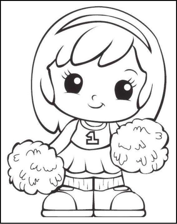 Chibi Squinkies Girl Coloring Pages | Squinkies Coloring and ...