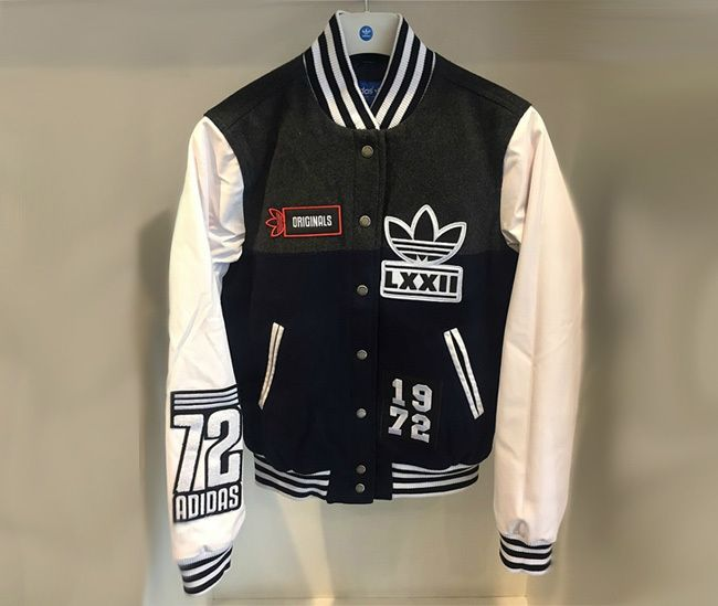 adidas originals baseball jacket