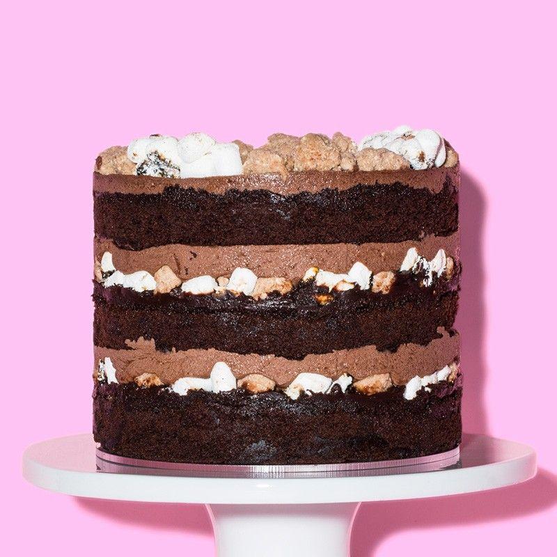 Milk Bar Store Malt Chocolate cake. Definitely need two