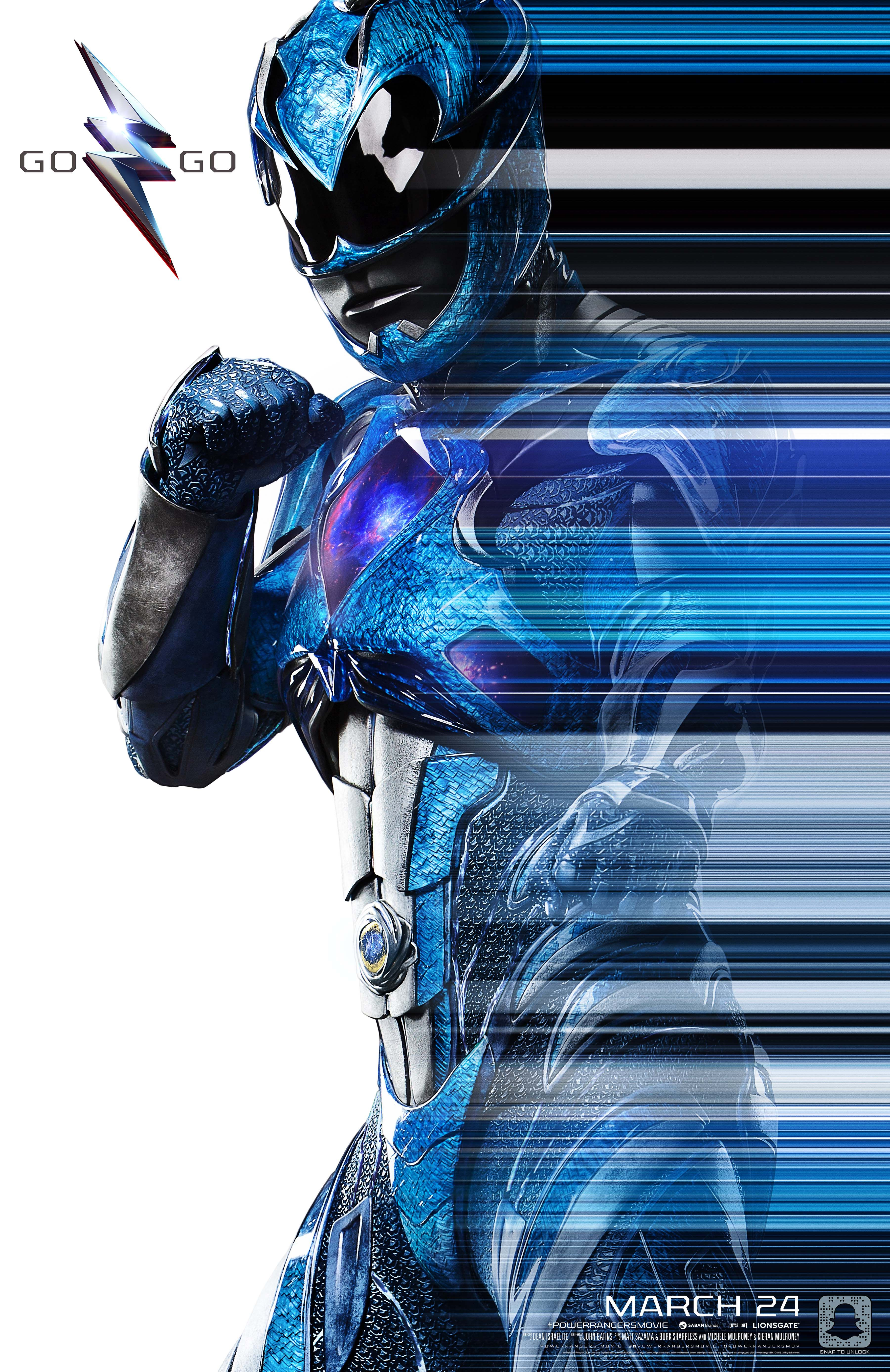 GoGo Billy the #BlueRanger! #PowerRangersMovie - In theaters March ...