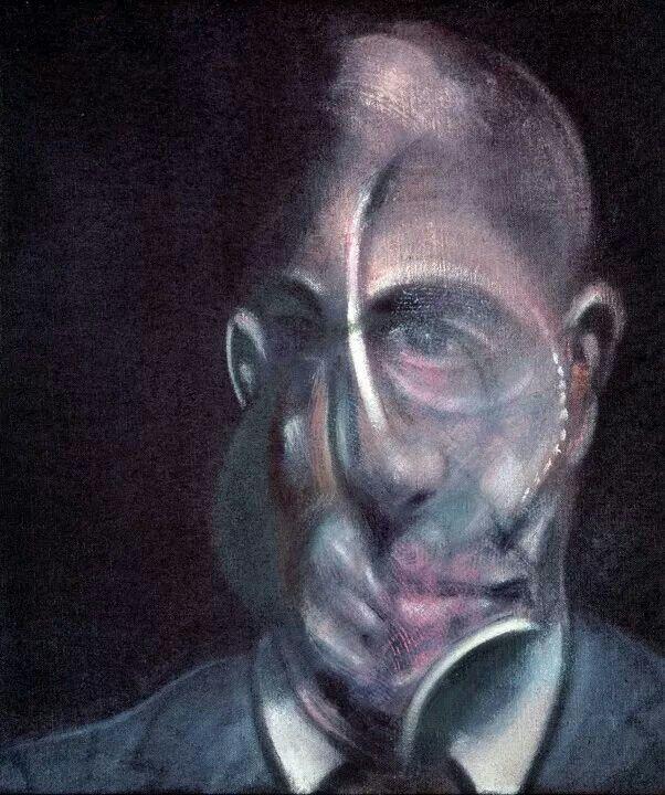 Portrait of Michel Leiris/ Francis Bacon