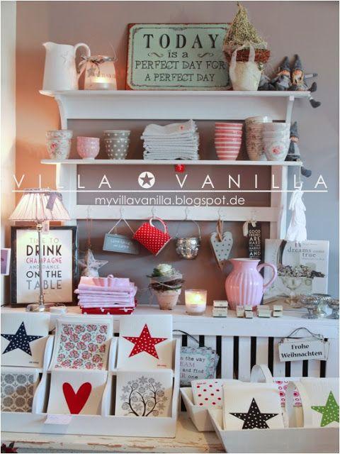 Villa ✪ Vanilla Wohnen \/ Living Pinterest Shabby chic - villa wohnzimmer dekoration