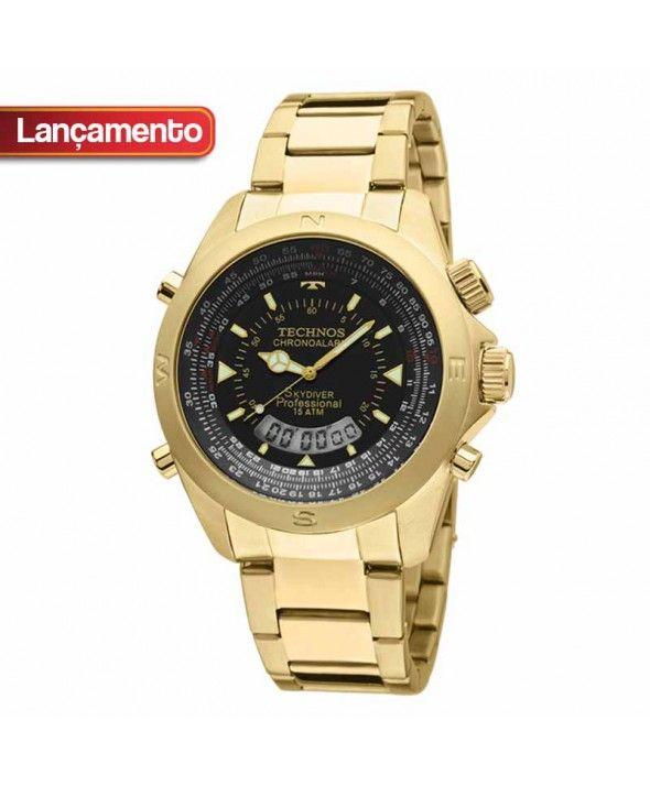 f380262fffa Relógio Technos Masculino Skydiver T20565 4P
