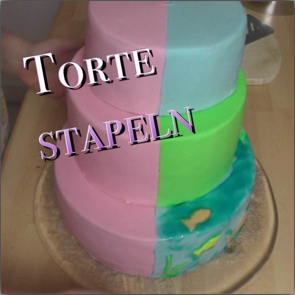Kuchen Stapeln