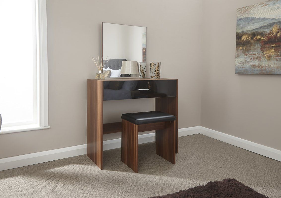 Couchtisch Oakland Tabatha Compact Dressing Table Set With Mirror Top Picks