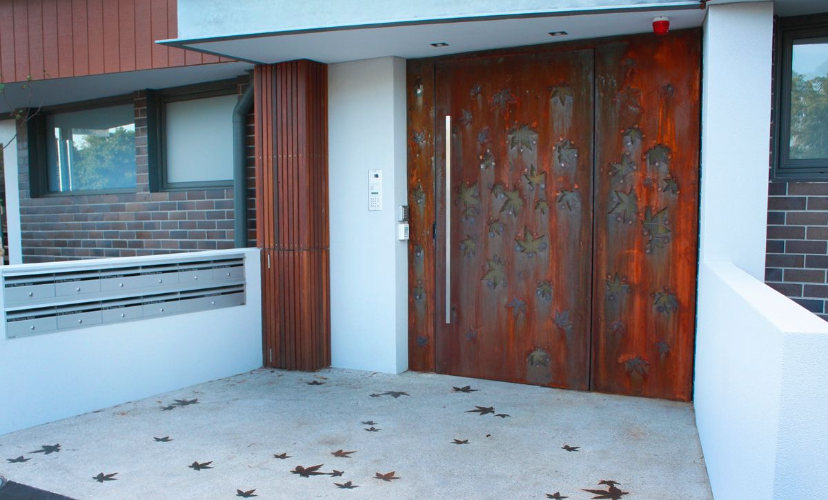 Security Gate For Pivot Door A Security Door Is A Great Solution To Add  Another Component