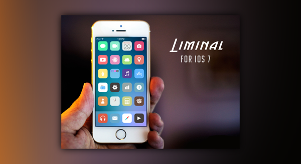 Liminal For iOS 7 ธีมสวยเรียบง่ายสไตล์ iOS 7 โหลดฟรี