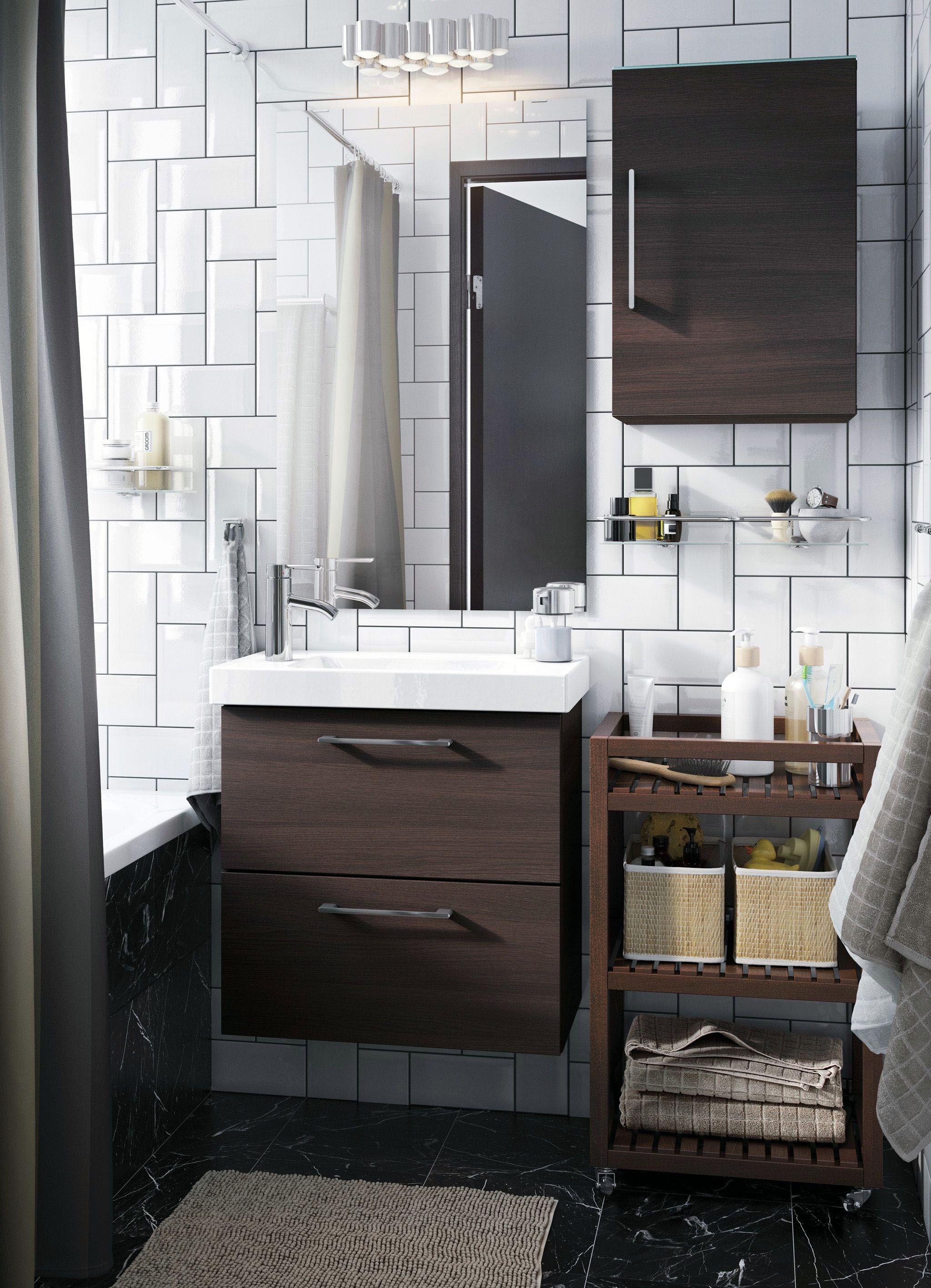 Discover Under Bathroom Cabinet Storage Ideas Only In Miral Iva Design Ikea Bathroom Small White Bathrooms Bathroom Cabinets Ikea