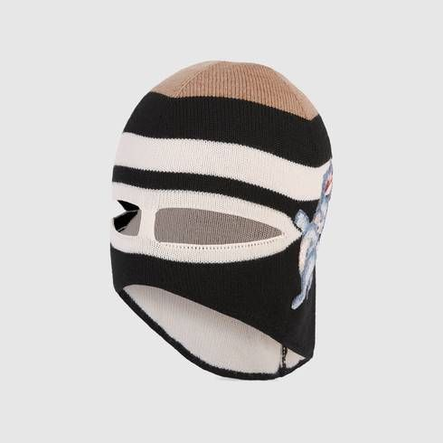 Wool mask with SF Giants™ patch - Gucci Hats For Men 4d1800ead2a