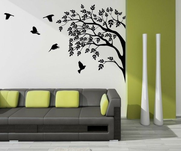 Modern Interior Design Creative Wall Mural Design | Http://Room