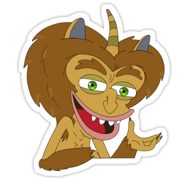 Maury The Hormone Monster Big Mouth Sticker By Pure Gifts In 2021 Mouth Painting Big Mouth Mouth Drawing